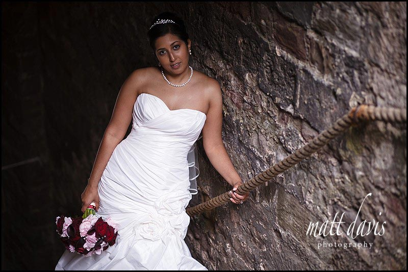 wedding portraits taken at Berkeley Castle