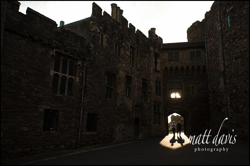 Wedding photographer at Berkeley Castle
