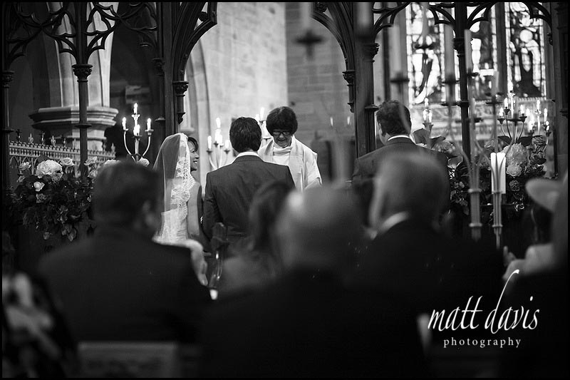 Eastnor Church wedding photography