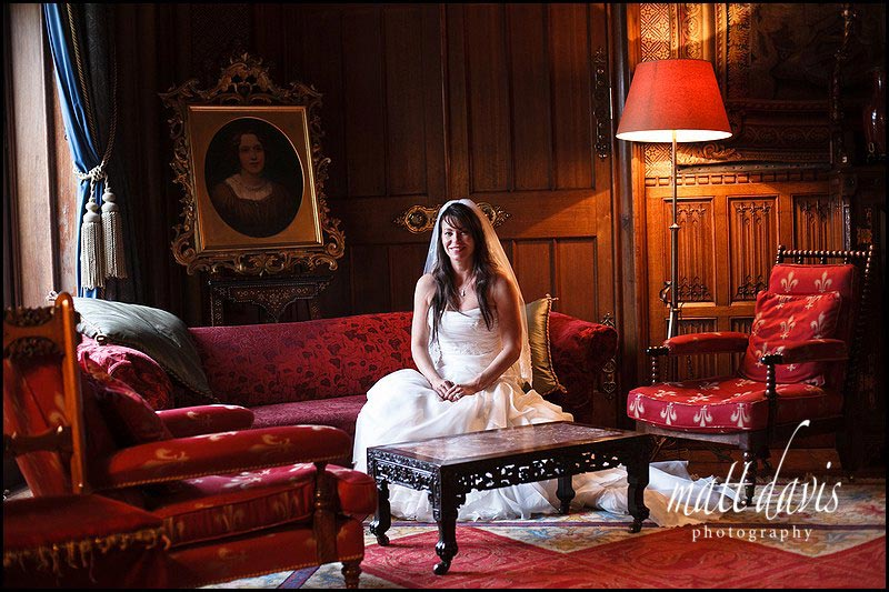Wedding photography at Eastnor Castle by Matt Davis Photography