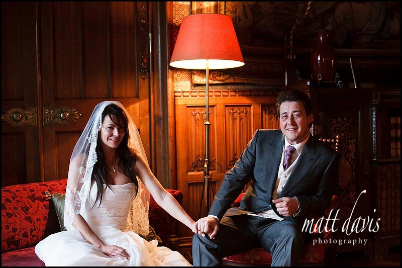Wedding photos at Eastnor Castle