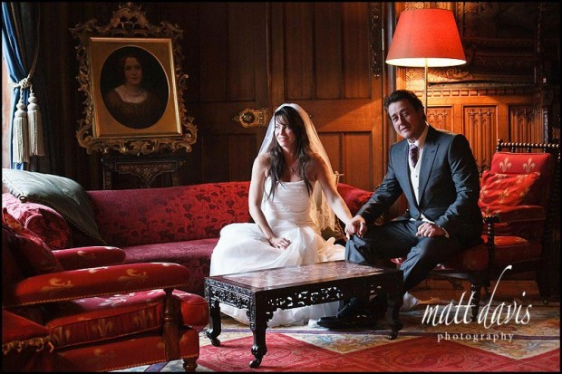 Eastnor Castle wedding photographer