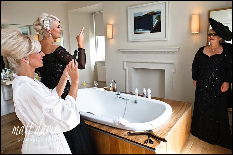 A bathroom suite at Cowley Manor