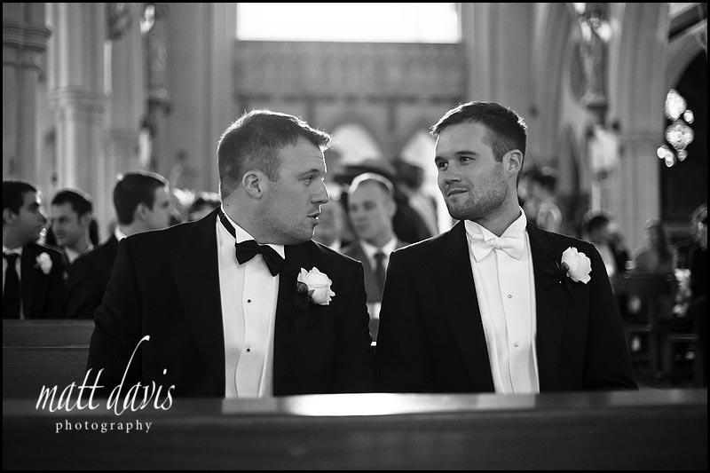 black tie wedding in Cheltenham, Gloucestershire