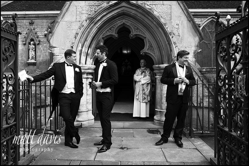 Wedding at St Gregory's Church, Cheltenham, Gloucestershire