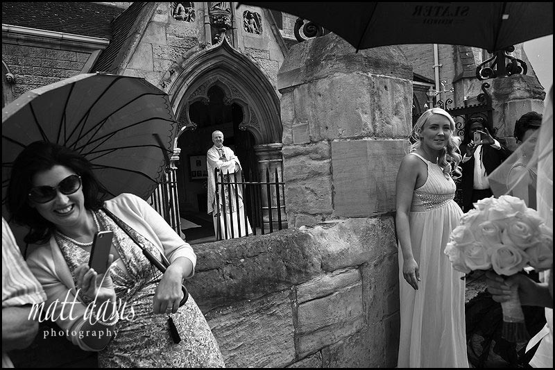 wedding photos at St Gregory's Church, Cheltenham