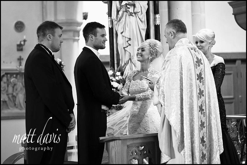 Getting married at St Gregory's Church, Cheltenham, Gloucestershire