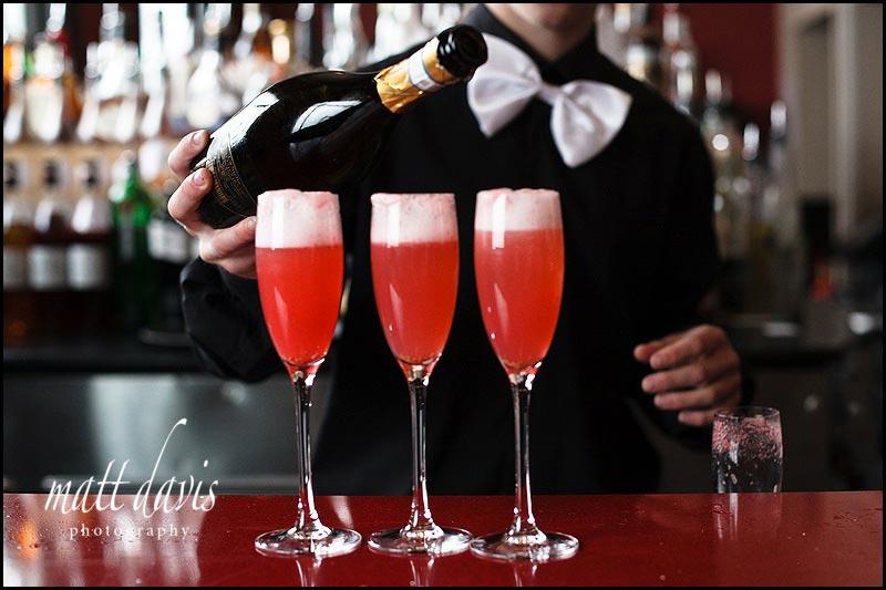cocktail wedding reception drinks