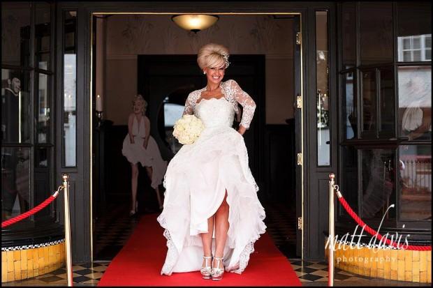 Wedding photos at The Daffodil wedding venue
