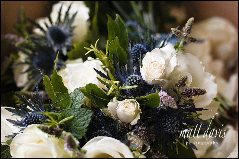 wedding bouquets with a Scottish theme