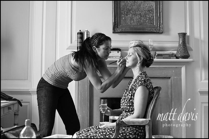 wedding make-up artist The Rectory Hotel