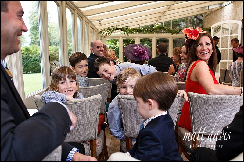 Chris & Nicky's wedding photos at The Rectory Hotel
