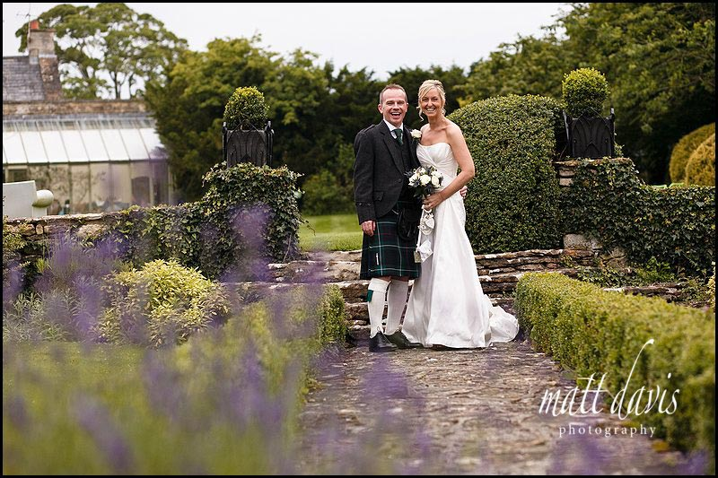 The Rectory Hotel wedding photos in summer