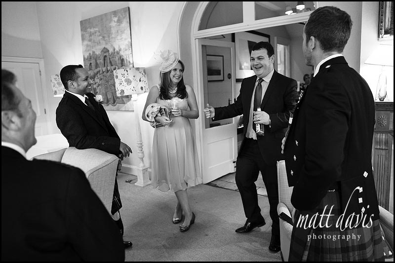 Documentary wedding photography The Rectory Hotel, Wiltshire