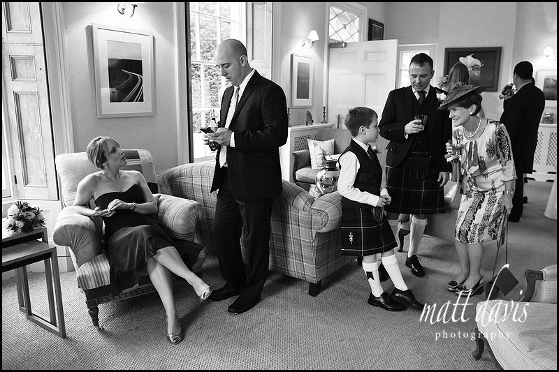 Documentary wedding photographer The Rectory, Crudwell, Wiltshire