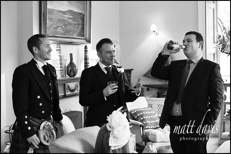 Documentary wedding photographer The Rectory Hotel, Wiltshire