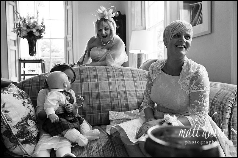 Documentary wedding photographer at The Rectory Hotel, Crudwell