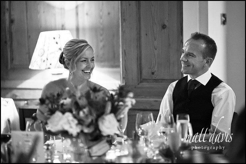 wedding photography during speeches at The Rectory wedding