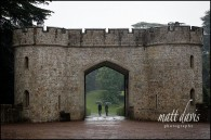 Wet wedding at Eastnor Castle – Preview