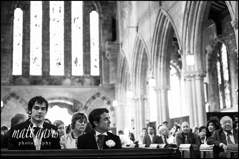 Documentary wedding photos Berkeley Church