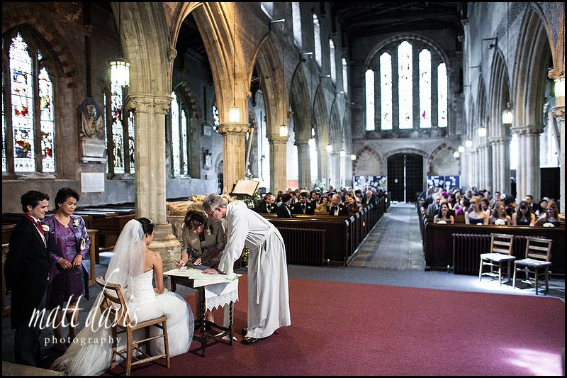reportage wedding photographer Berkeley Church, Gloucestershire