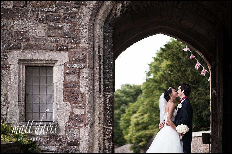 Berkeley Castle wedding photographer Matt Davis took this
