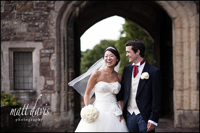 Berkeley Castle wedding photographers