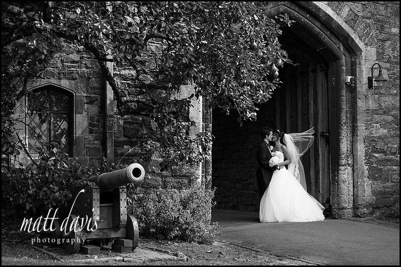 Photos at Berkeley Castle wedding