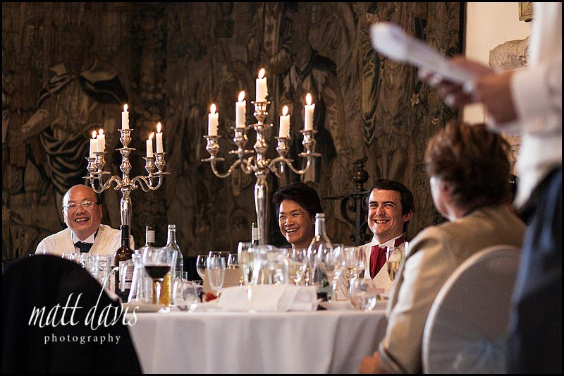 Natural wedding photography at Berkeley Castle