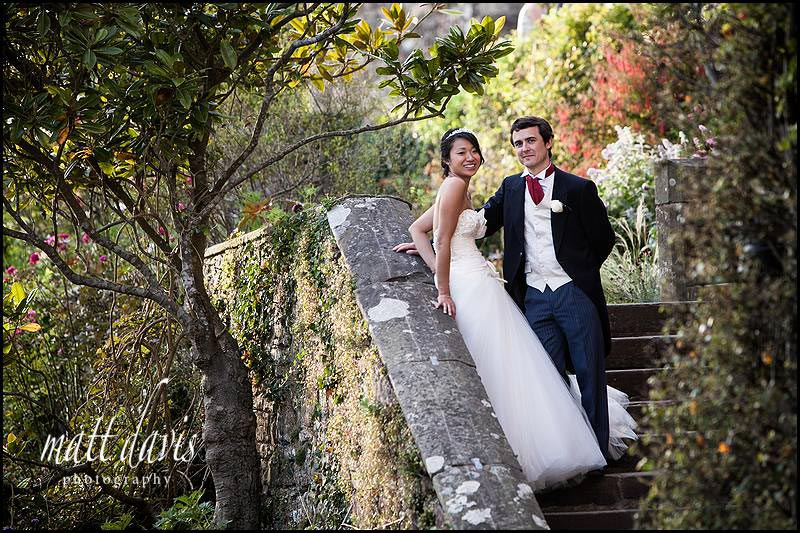 stylish Berkeley Castle Wedding Photographer