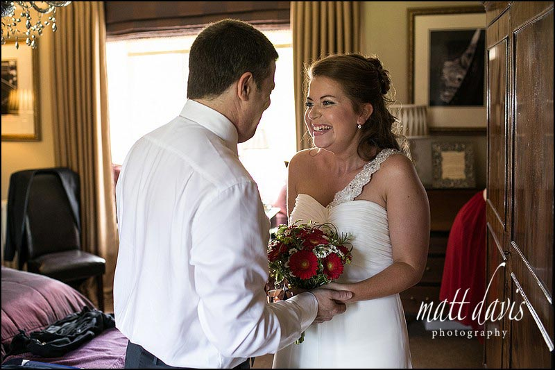 Documentary wedding photography at Friars Court