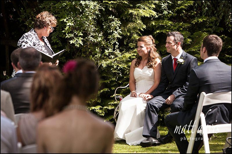wedding photography at Friars Court