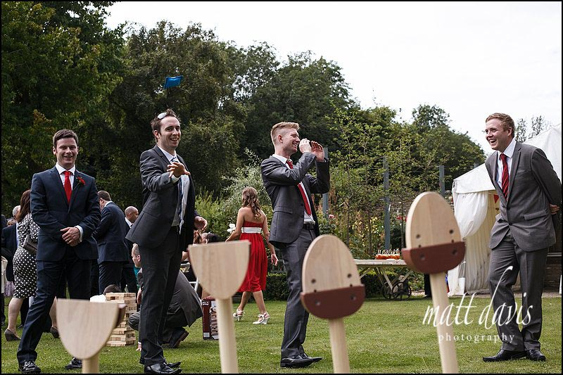 garden wedding games at Friars Court