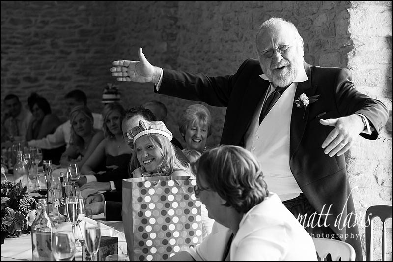 Gloucestershire wedding photographer Matt Davis photographs weddings at Kingscote Barn
