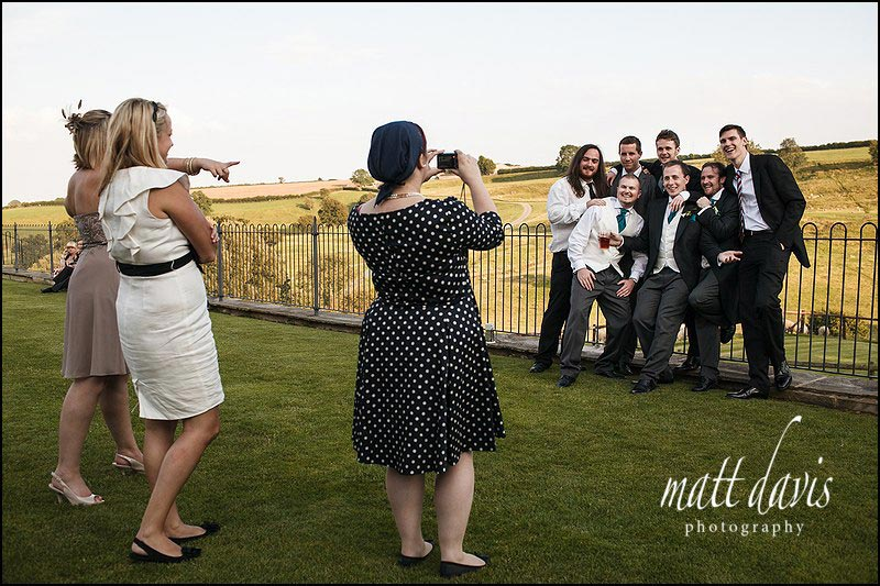 Kingscote Barn reportage wedding photos