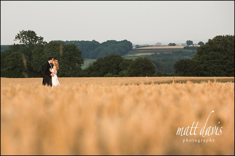 wedding photographs at Kingscote Barn