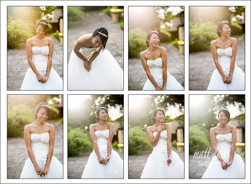 fun wedding photography berkeley castle