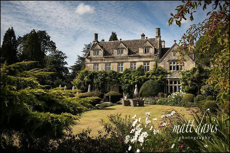 stunning gardens surrounding Barnsley House