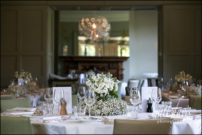 Inside Barnsley House table layouts