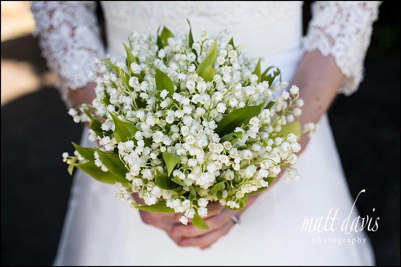 Sweet Pea flowers wedding bouquet