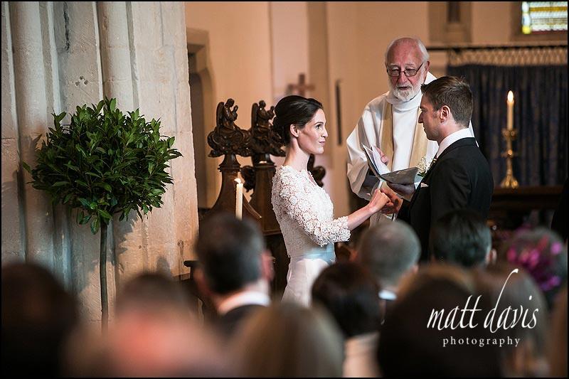 wedding photos at Barnsley Church, Gloucestershire