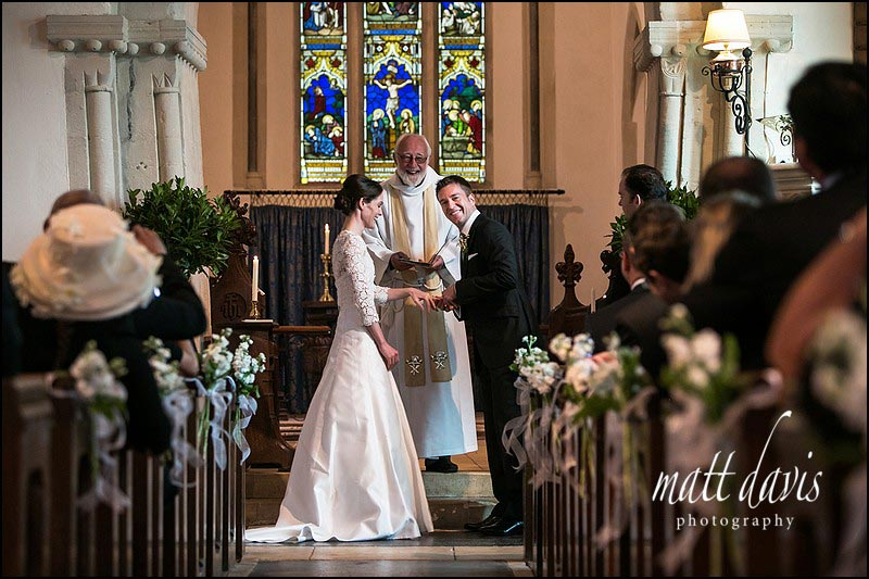 wedding photography at Barnsley Church, Gloucestershire