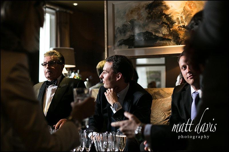 Barnsley House wedding photos inside