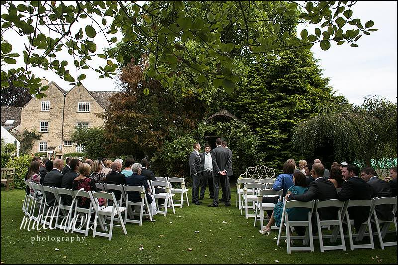 Friars Court outdoor wedding ceremony venue