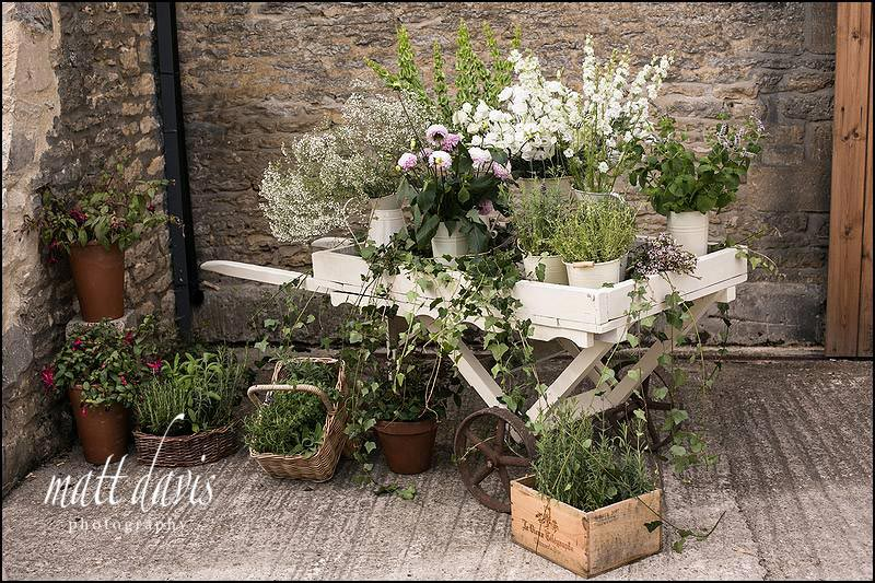 English garden flower designs for wedding