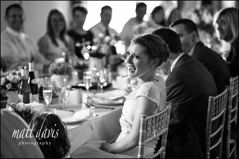 Speech photos by a Friars Court wedding photographer