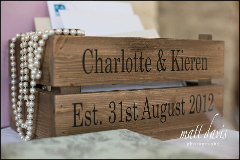 embossed rustic wooden crates a great wedding idea