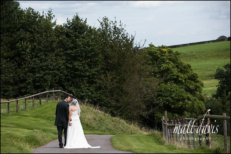 Wedding portraits at Kingscote Barn wedding