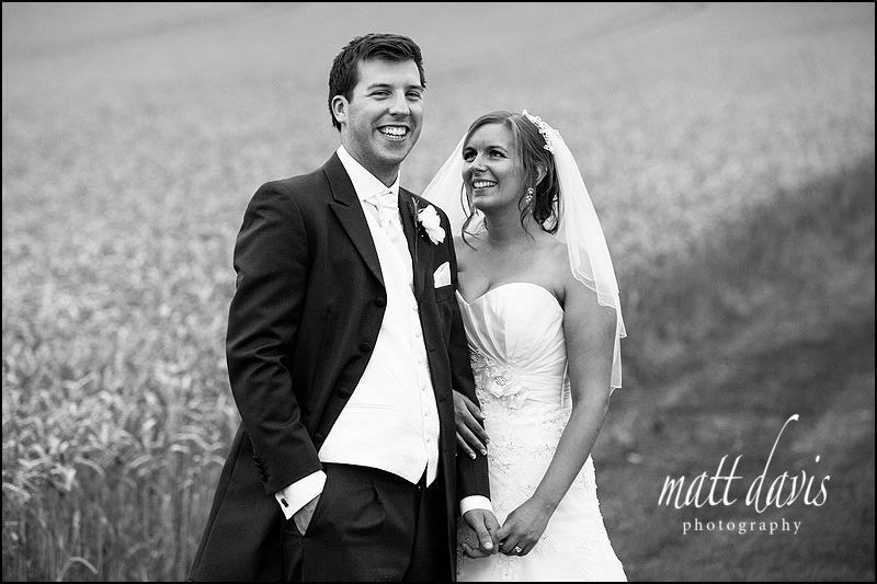 Couple photos taken in the corn field at Kingscote Barn