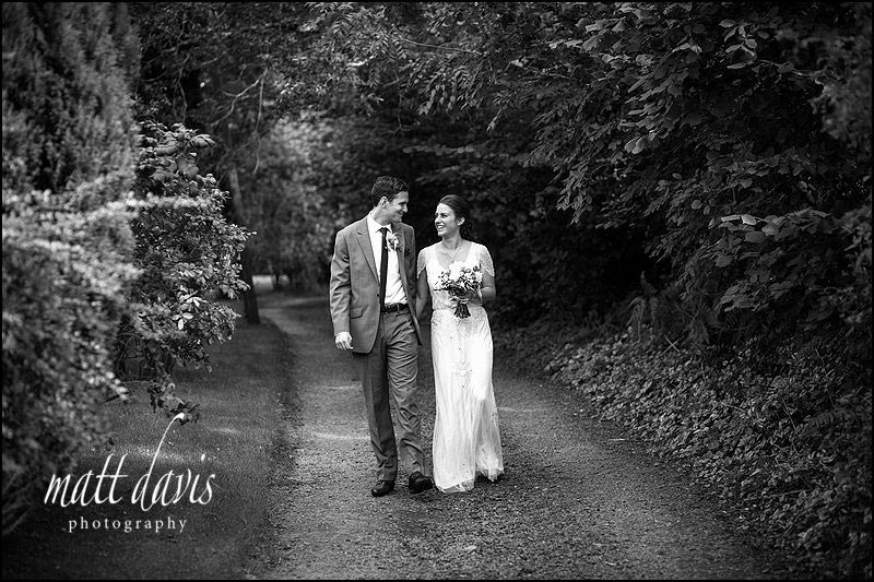 Black and white Wedding photography South Wales